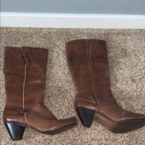 👢Matisse Brown Leather Boots Size 11